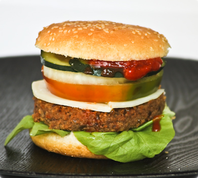 Hamburger 100% vegetariano