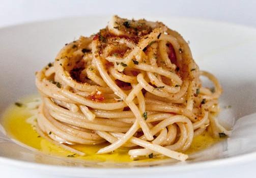 Spaghetti aglio, olio e…'nduja