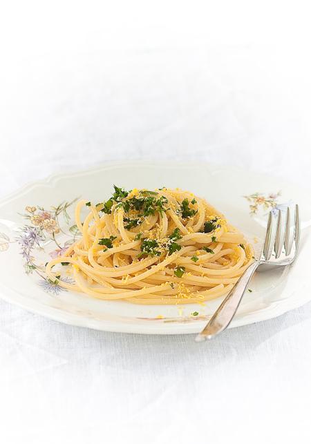 Spaghetti alla milanese (col burro salato)