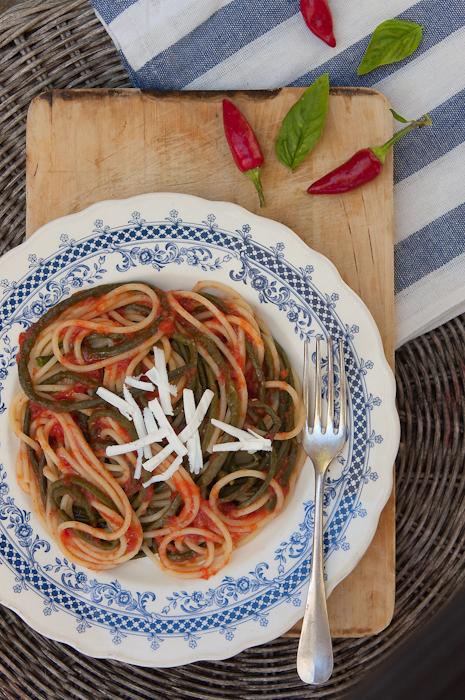 Un piatto raro: gli spaghetti con gli occhipinti