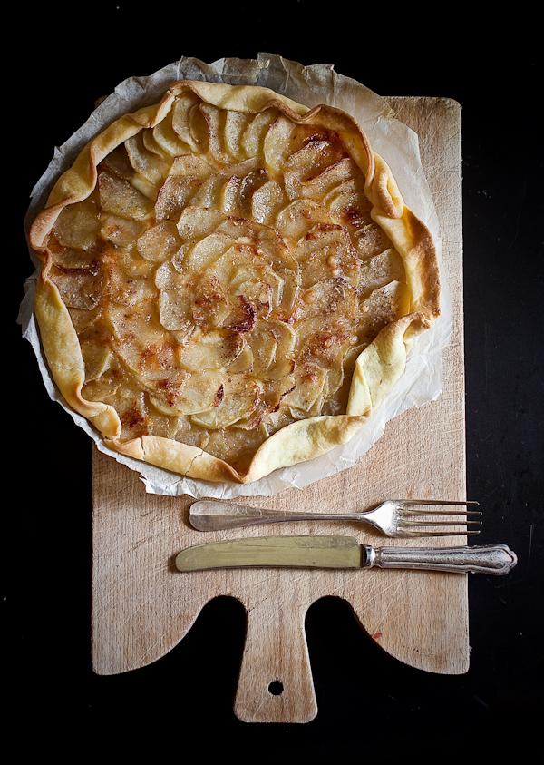 Quiche alle cipolle e patate arrosto