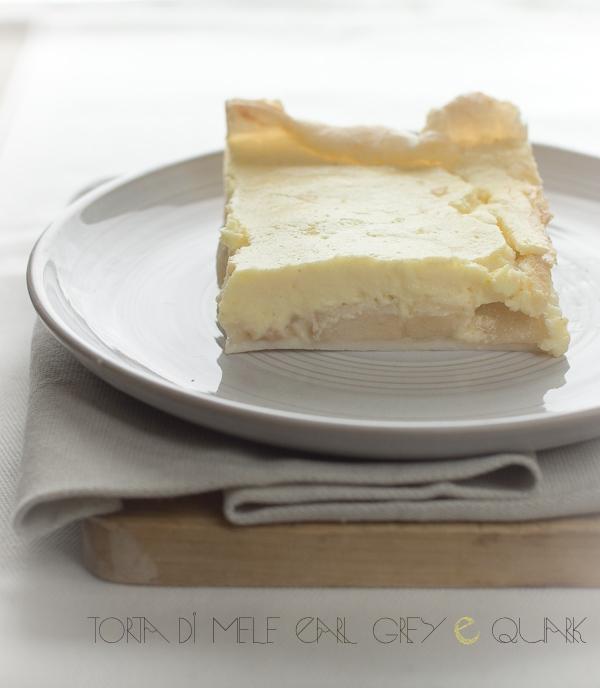 "Torta di mele ""Earl Grey"" con quark"