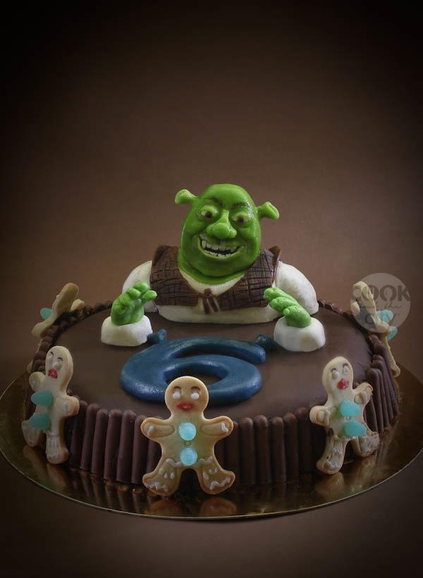 La palude di Shrek e la sua torta