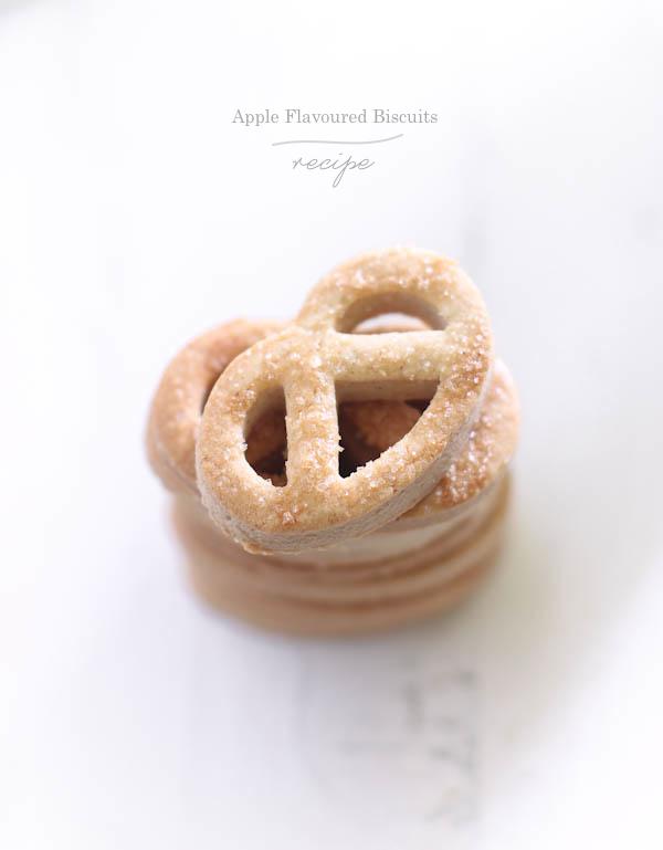 Biscotti che profumano di mela (e non si sa il perché)