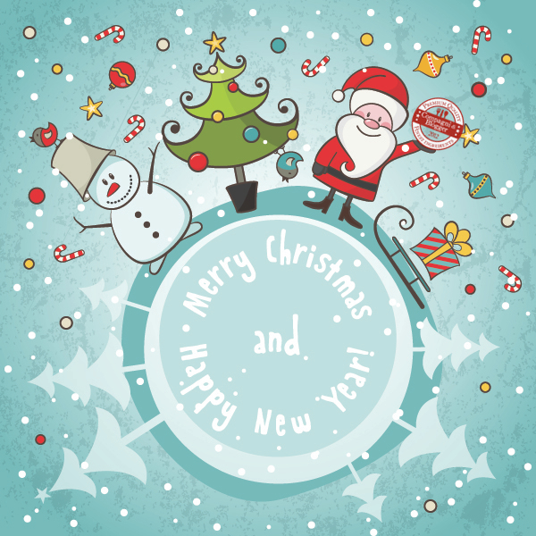 Compagni di Blogger e i dolci di Natale nel mondo
