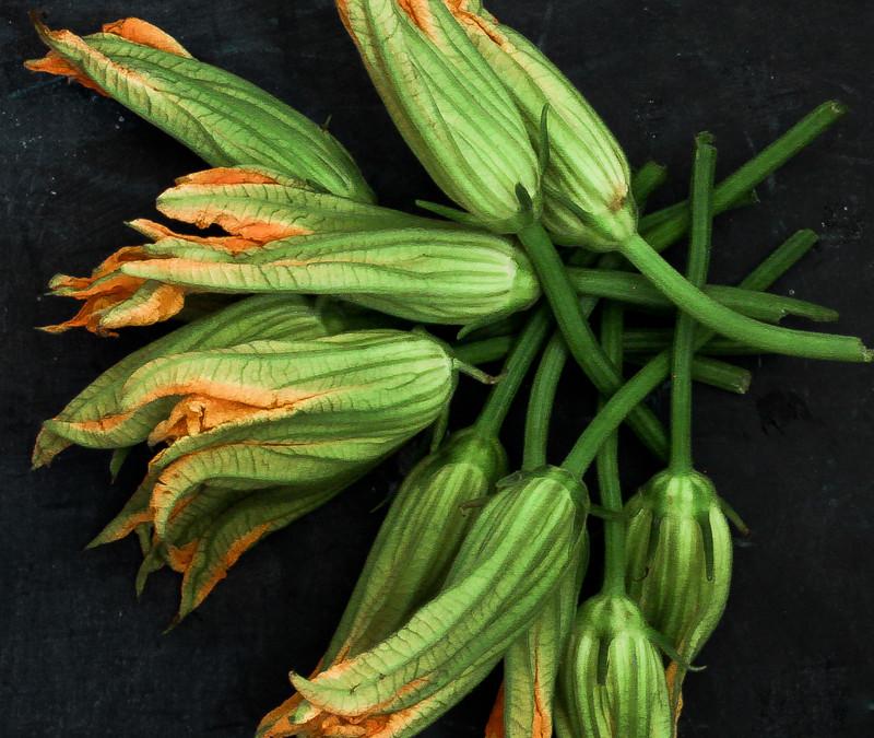 Due variazioni sul tema fiori di zucca